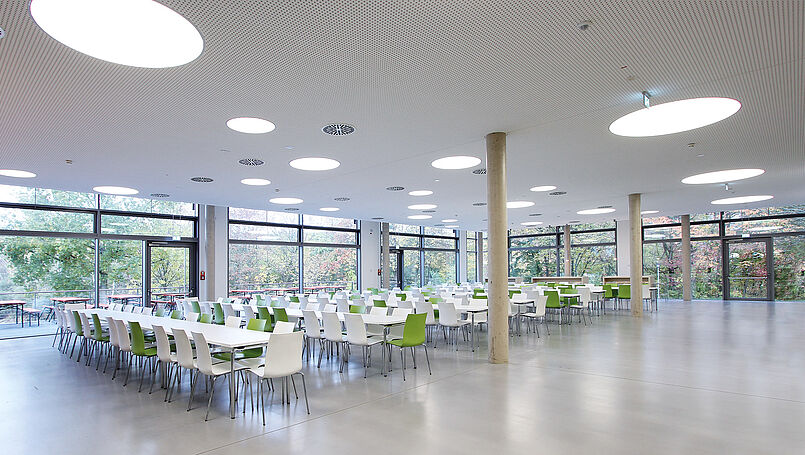 Refectory, Bayreuth University, GER